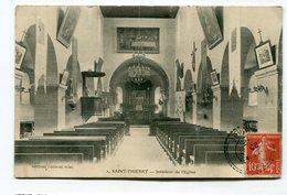 CPA  51 : ST THIERRY  Intérieur église     A   VOIR   !!!! - Autres Communes