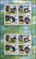 2011, Angola, 1858-61 KB ZD, ** - Angola