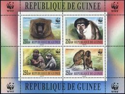 2000, Guinea, WWF Block, ** - Guinea (1958-...)