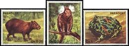1985, Paraguay, 3851-53, ** - Paraguay