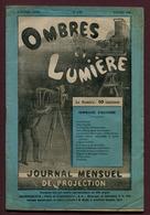 """"""" OMBRES ET LUMIERE - Journal Mensuel De Projection """"  1909 - Photographie"""