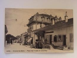 Divonne Les Bains - Place Des 4 Vents Et Grand'Rue - Divonne Les Bains