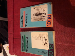 10x18 Boris Vian Theatre 2 Tomes - Auteurs Français