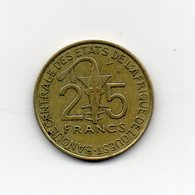 Africa Dell' Ovest - 1979 - 25 Franchi - (Vedi Foto) - (MW1819) - Monete