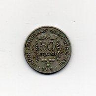 Africa Dell' Ovest - 1981 - 50 Franchi - (Vedi Foto) - (MW1820) - Monete