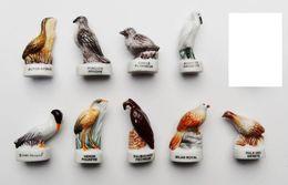Fève Lot 9 Fèves Série WWF Champion Oiseaux - AN - Animales