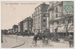 CPA 94 VINCENNES Avenue Des Minimes - Vincennes