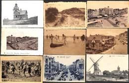 Knocke - Petit Lot Sympa De 10 Cartes (animée, Bateau Moulin) (petit Prix) - Knokke