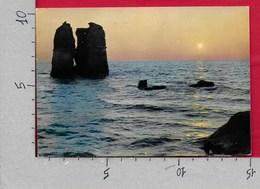 CARTOLINA VG ITALIA - LADISPOLI (ROMA) - Tramonto A Torre Flavia - 10 X 15 - ANN. 196? - Italia