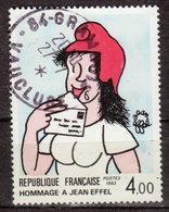 FRANCE - 1983 - YT N° 2291 - Oblitérés - Jean Eiffel - France