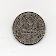 Africa Dell' Ovest - 1982 - 100 Franchi - (Vedi Foto) - (MW1821) - Monete