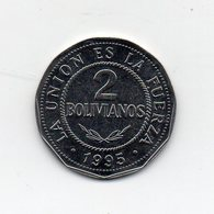 Bolivia - 1995 - 2 Bolivianos - Vedi Foto - (MW1822) - Bolivie