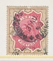 BRITISH  INDIA  50   (o)   Wmk.. STAR - India (...-1947)