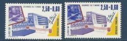 """FR YT 2688 & 2689  """"Journée Du Timbre """" 1991 Neuf** - France"""