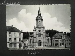 Zalmchâteau Salmchâteau  Vielsalm Bastogne Wallonie Luxembourg BELGIQUE 7 Cartes Postales Semi - Modernes HÔTEL ÉGLISE - Luoghi