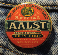 Pin Button Badge Ø38mm ( Ancienne Bière - Bier - Beer ) ALOST #3 - Bière