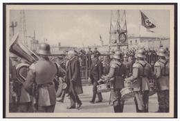 """DT- Reich (005257) Propaganda Sammelbild Deutschland Erwacht"""""""" Bild 149, Das Größte Flugzeug Der Lufthansa - Deutschland"""