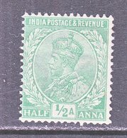BRITISH  INDIA  81   *    GEORGE  V   Wmk.. STAR - India (...-1947)