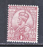 BRITISH  INDIA  83   *    GEORGE  V   Wmk.. STAR - India (...-1947)