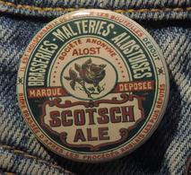 Pin Button Badge Ø38mm ( Ancienne Bière - Bier - Beer ) ALOST #16 - Bière