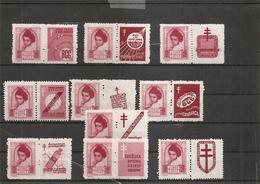 Pologne ( 547 - Série Complète Des 10 Vignettes Attenantes XXX -MNH) - 1919-1939 Republic