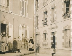 Carte Photo - Saint Jean De La Ruelle (45 - Loiret) Lot De 2 Cartes - Other Municipalities
