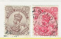 BRITISH  INDIA  102-03   (o)    GEORGE  V   Wmk.. STAR - 1911-35 King George V