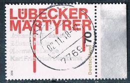 2018  Lübecker Märtyrer - [7] Federal Republic