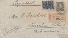 USA 1907: Registered New York To München/Germany - Non Classés