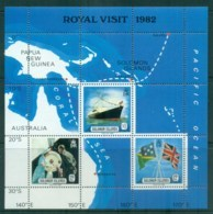 Solomon Is 1982 Royal Visit MS MUH Lot81795 - Solomon Islands (1978-...)