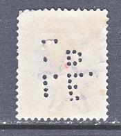 BRITISH  INDIA  119   PERFIN   (o)    GEORGE  V   Wmk.. MULTI-STAR - 1911-35 King George V