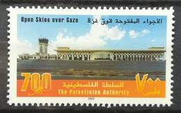 1999 PALESTINE MNH Open Skies Over Gaza - Palestine