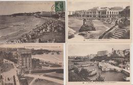 18/11/169 -  LOT  DE   4  CPA  &  2  CPSM  DE  BIARRITZ  ( 64 - - Cartoline