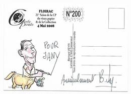 Illustrateur Bernard Veyri Caricature Et Dedicace Salon De Floirac Chaval - Veyri, Bernard