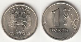 Russia 1 Rublo 1997 KM#604 - Used - Russia