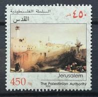 2002 PALESTINE MNH Historical Cities On Paintings JERUSALEM - Palestine