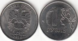 Russia 1 Rublo 2010 KM#833a - Used - Russia