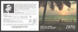 Kalender / Calendrier 1970 - L'Oeuvre Pontificale De Saint-Pierre Apôtre - Petit Format : 1961-70