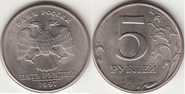 Russia 5 Rubli 1997 KM#606 - Used - Russland