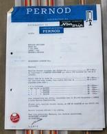Lot 93 MONTREUIL Sous BOIS  PERNOD Armoire Refrigeree - Factures
