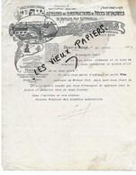 27 - Eure - PACY-SUR-EURE - Facture LAMBOIS - Constructeur-mécanicien - 1907 - REF 111A - 1900 – 1949
