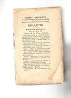 Bulletin De La Société Académique De L'arrondissement De Boulogne-Sur-Mer.tome XI. 850 Pages.1921. - Picardie - Nord-Pas-de-Calais