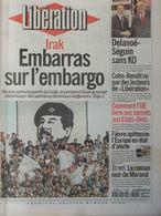 Journal - Libération 1er Mars 2001 - Embargo Irak - Paul Morand - Cohn-Bendit - Fièvre Aphteuse - Kranten