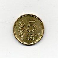 Argentina - 1976 - 5 Pesos - Vedi Foto - (MW1827) - Argentina