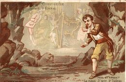 CHROMO CONFISERIE ROUBAUD A EPINAL PAUL ET VIRGINIE - Other