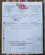 16 COGNAC PORTUGAL Porto Rei - Manuel - Invoices