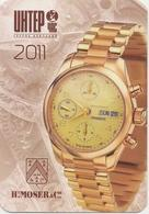 Calendar Russia - 2011 - Clock - Moser - Advertising - Beautiful - Calendars
