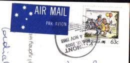 Police, Live Together Stamp  2009  Australia On Postcard - 2000-09 Elizabeth II