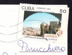 Grenada 1992 Stamp 1992  Cuba  On Postcard - Cuba