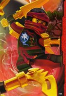 Trading Card Carte Lego Ninjago 2017 N° 204 - Trading Cards